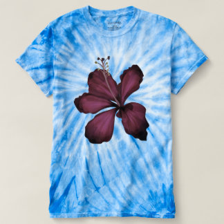 Women's designers t-shirt with Exotic flower