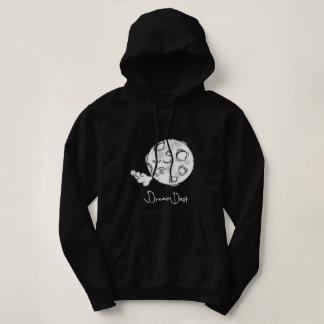 Women's Dream Dust Moon Basic Hooded Sweatshirt