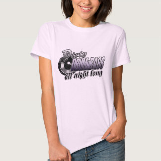 Women's Drum and Bass T Shirts