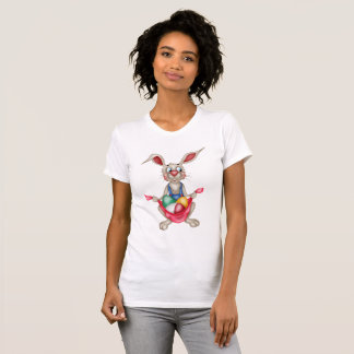 Women's Easter Bunny t-shirt