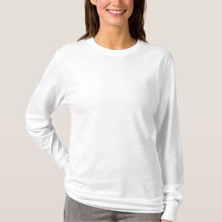 Women's Embroidered Long Sleeve T-Shirt