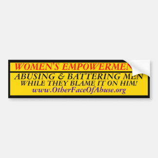 Women's Empowerment! Bumper Sticker