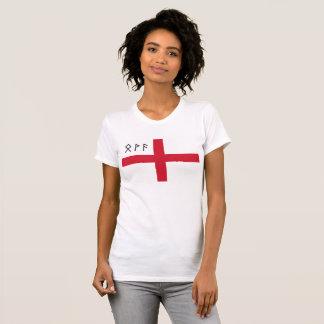 Women's England T-Shirt - Flag with Runes