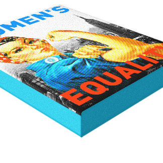 Womens Equality Canvas Print