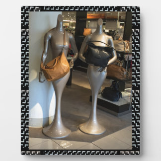 Women's Fashion Showroom Window Hand Bags shopping Plaque