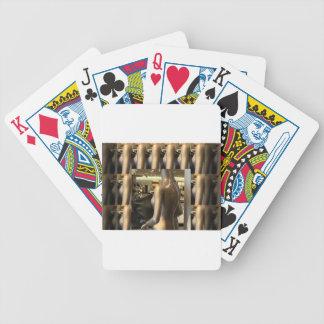 Women's Fashion Showroom Window Hand Bags shopping Poker Deck