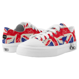 Womens Fashion Trainers British Flag