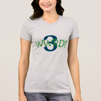 """Women's Favorite tee """"What Would Russell Do"""""""