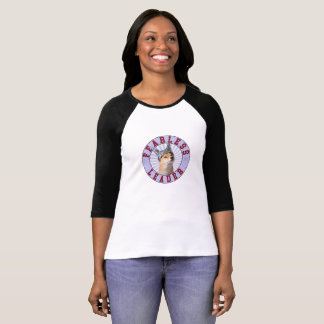 Women's Fearless Leader  3/4 Sleeve T-Shirt