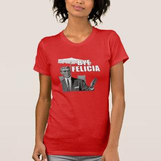 Women's Female Bye Felicia Funny Vintage Tee Shirt