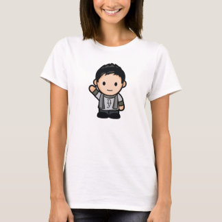 Womens Fitted Front and Back T-Shirt