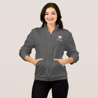 Women's Fleece Jacket in Gray