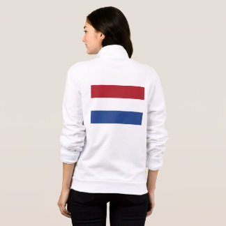 Women's  Fleece Jogger with flag of Netherlands