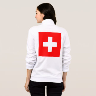Women's  Fleece Jogger with flag of Switzerland
