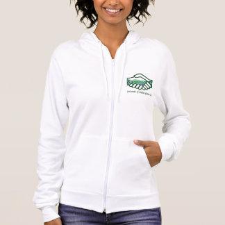 Women's FLG American Apparel Fleece Zip Hoodie