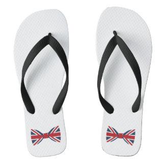 Women's flip flop - Union Jack Bow Tie