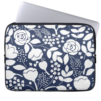 Womens floral laptop sleeve