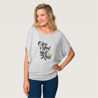 Women's Flowy Circle Cannatopia Open Mind Top