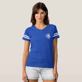 Women's Football T-Shirt with Samohi Nautilus Logo