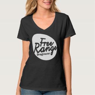 Women's Free Range Drag Racer Shirt. T Shirts