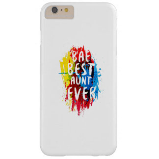 Womens Funny BAE  Best Auntie Ever Mom Mothers Barely There iPhone 6 Plus Case