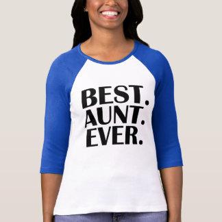 Women's Funny Best Aunt Ever Shirt