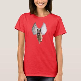 Women's German Shepherd Angel T-Shirt