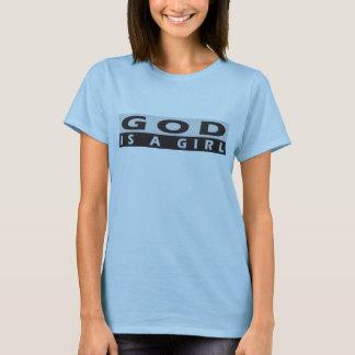 Women's God Is A Girl T-Shirt