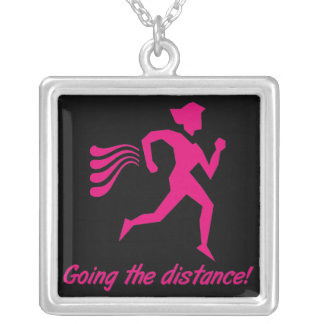 """Womens """"Going The Distance!"""": Running Necklace"""