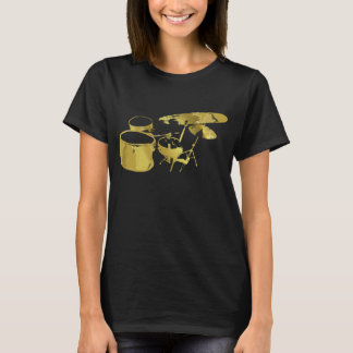 Women's Golden Drums T-shirt