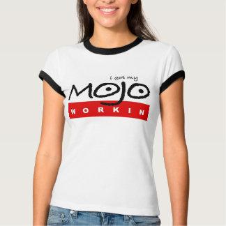 Women's Got My Mojo Workin' Bella Ringer T-Shirt