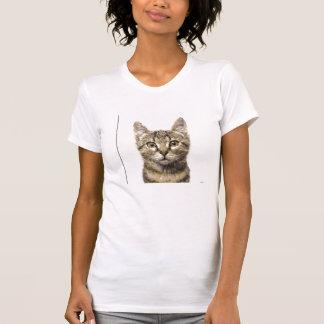 Womens Graphic Cat Tee shirt