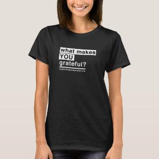 Women's Grateful T-Shirt (Black)