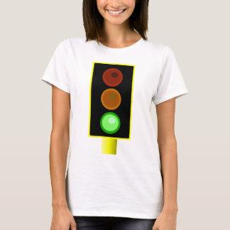 Womens Green Traffic Light Shirt