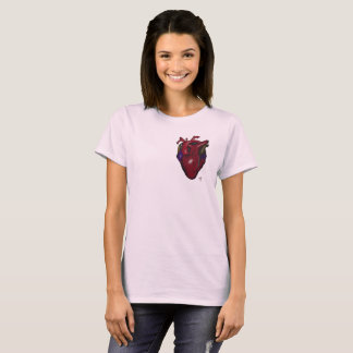 Women's Heart Design T-Shirt