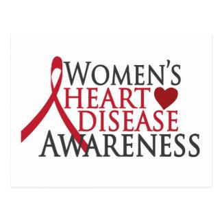 Women's Heart Disease Awareness Postcard