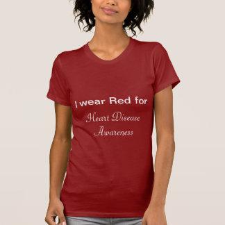 Women's Heart Disease Awareness T-shirt