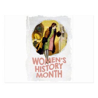Women's History Month - Appreciation Day Postcard