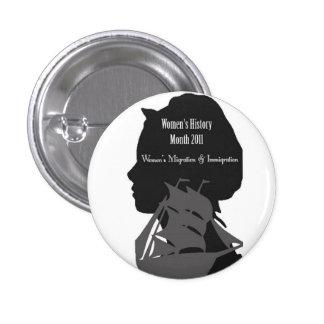 womens history month logo pin