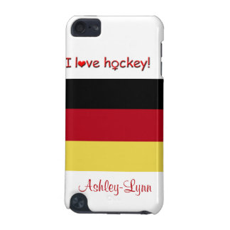 Women's Hockey!-German flag/Female Name iPod Touch (5th Generation) Covers