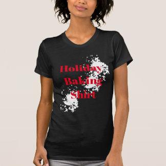Women's Holiday T-Shirt-Holiday Baking Shirt