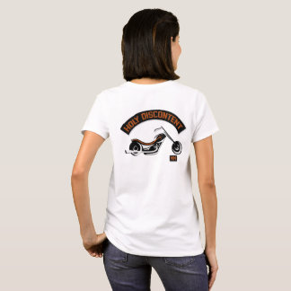 Womens Holy Discontent Basic White Logo T-Shirt