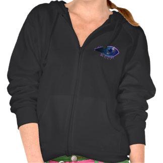 Women's Hooded fleece- Weep Eye logo Hoody