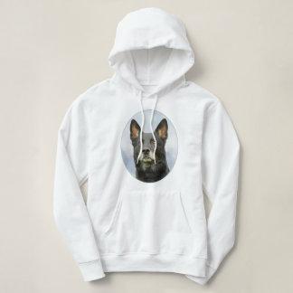 Women's hooded German Shepherd dog sweatshirt