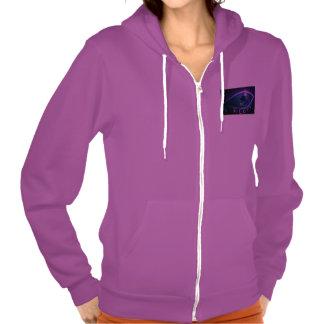 Women's Hooded Jacket-WEEP Eye logo Hoodie