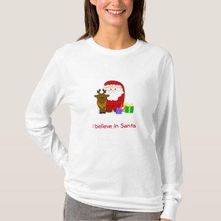 Women's I Believe in Santa Hoodie