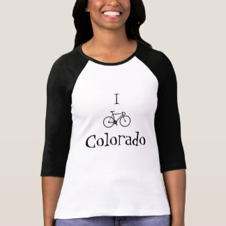 Womens I bike Colorado Shirt