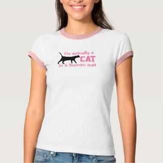 Women's 'I'm Actually A Cat' T-Shirt