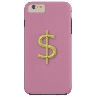 Women's iPhone 6s plus dollar sign case for sale. Tough iPhone 6 Plus Case