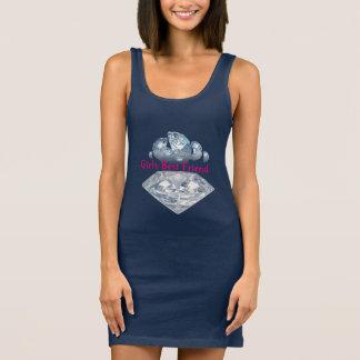 Women's Jersey Girls Best Friend Tank Dress